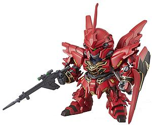 Gundam SD Gundam EX-Standard #013 Model Kit: MSN-06S Sinanju