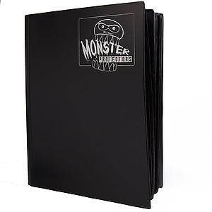 Mega Binder 18-Pocket Portfolio: Black