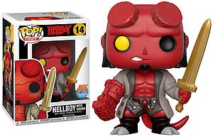Pop! Comics Hellboy Vinyl Figure Hellboy with Sword #14 PX Previews Exclusive