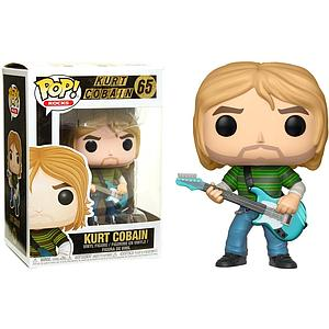 Pop! Rocks Vinyl Figure Kurt Cobain #65