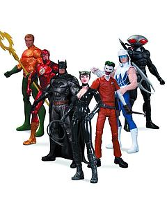 DC Collectibles The New 52 7-Packs: Heroes vs. Villain