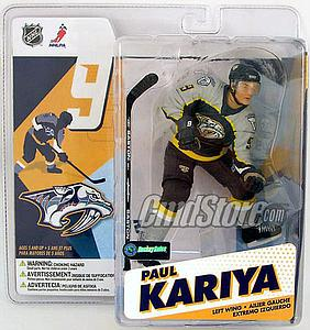 NHL Sportspicks Series 12 Paul Kariya (Nashville Predators) Blue Jersey Variant