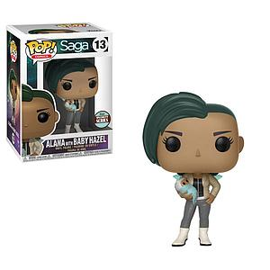 Pop! Comics Saga Vinyl Figure Alana with Baby Hazel #13 Specialty Series Exclusive (Cancelled)