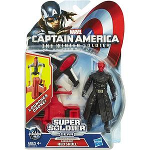 Super Soldier Gear - Air Raid Red Skull