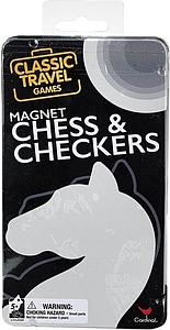Magnetic Chess & Checkers