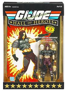 G.I. Joe Hall of Heroes: Master of Disguise Zartan