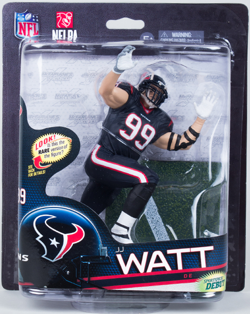 NFL Sportspicks Series 33: JJ Watt (Houston Texans) [Silver-Level Variant]