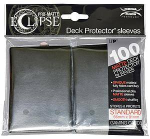 Card Sleeves 100-pack Eclipse Pro-Matte Standard Size: Black