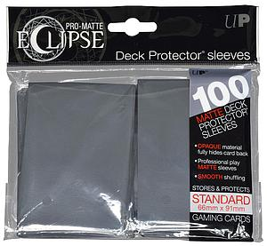 Card Sleeves 100-pack Eclipse Pro-Matte Standard Size: Grey