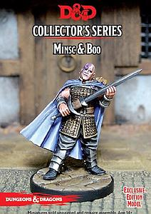Dungeons & Dragons Minis Collector Series: Minsc & Boo