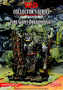 Dungeons & Dragons Minis Storm Kings Thunder Collector Series: Fire Giant Dreadnought