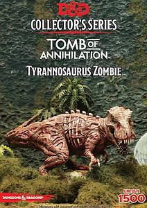 Dungeons & Dragons Minis Tomb of Annihilation Collector Series: Tyrannosaurus Zombie