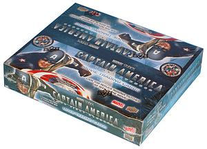 Upper Deck Captain America The First Avenger Trading Cards: Box