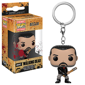 Pop! Pocket Keychain The Walking Dead Vinyl Figure Negan