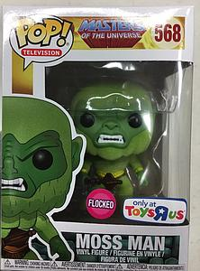 Pop! Television Masters of the Universe Vinyl Figure Moss Man (Flocked) #568 Toys R Us Exclusive