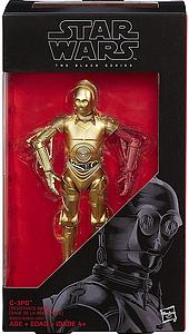 "Star Wars The Black Series 6"" C-3PO (Red Arm)"