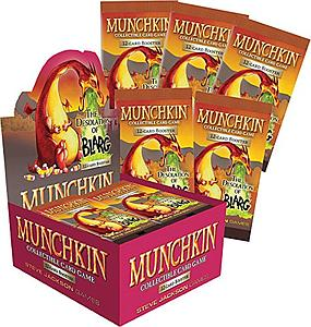 Munchkin Collectible Card Game The Desolation of Blarg: Booster Box
