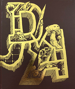 Dungeon Alphabet: Gold Foil (Fourth Edition)