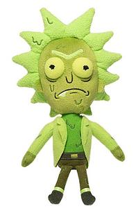 Galactic Plushies: Rick and Morty - Rick (Toxic)