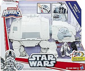 Star Wars Galactic Heroes Imperial AT-AT Fortress Vehicle