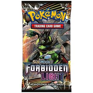 Pokemon Trading Card Game: Sun & Moon (SM6) Forbidden Light Booster Pack