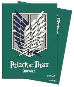 Deck Protectors Attack on Titan - Survey Corps 65 Standard Sized Card Sleeves