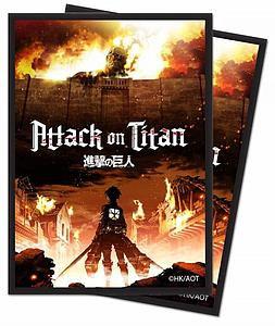 Deck Protectors Attack on Titan - The Beginning 65 Standard Sized Card Sleeves