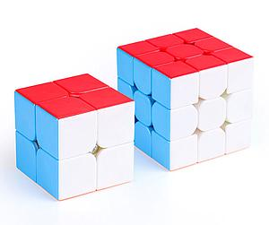Puzzle Cube 3X3X3 and 2X2X2 Gift Pack