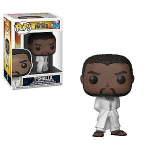 Pop! Marvel Black Panther Vinyl Bobble-Head Black Panther in Robe (White)