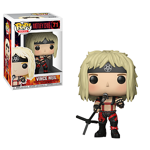 Pop! Rocks Motley Crue Vinyl Figure Vince Neil #71