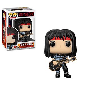 Pop! Rocks Motley Crue Vinyl Figure Mick Mars #72
