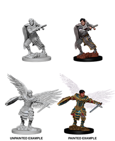 Dungeons & Dragons Nolzur's Marvelous Unpainted Miniatures: Male Aasimar Fighter