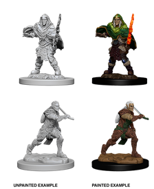Dungeons & Dragons Nolzur's Marvelous Unpainted Miniatures: Male Elf Fighter