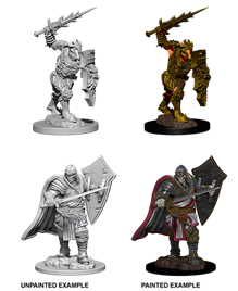 Dungeons & Dragons Nolzur's Marvelous Unpainted Miniatures: Death Knight/Helm Horror