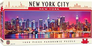 Panoramic Puzzle: New York City