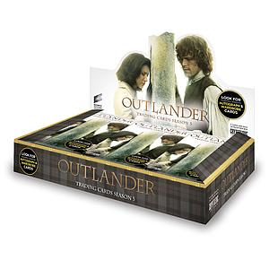 Outlander Trading Cards Season 3 Booster Box (24 Packs)