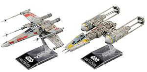 Star Wars 1/144 Scale Model Kit: X-Wing & Y-Wing