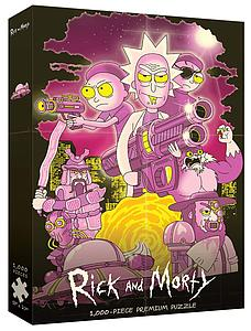 Puzzle: Rick & Morty Big Trouble in Little Sanchez
