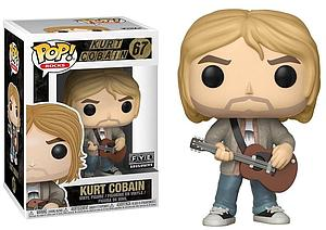 Pop! Rocks Vinyl Figure Kurt Cobain (Tan Sweater) #67 FYE Exclusive