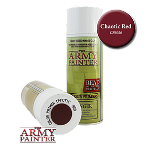 The Army Painter Colour Primers Spray Cans: Chaotic Red