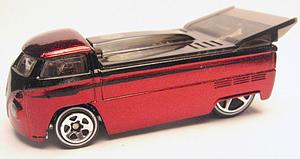 Hot Wheels Classics Series 2 Die-Cast: Customized VW Drag Truck (Red)