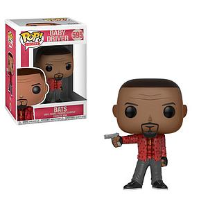 Pop! Movies Baby Driver Vinyl Figure Bats #595