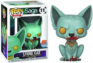 Pop! Comics Saga Vinyl Figure Lying Cat Bloody Version #11 PX Previews Exclusive