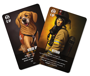 Flash Point: Fire Rescue - Veteran & Rescue Dog