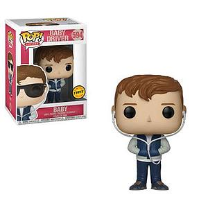 Pop! Movies Baby Driver Vinyl Figure Baby #594 (Chase)