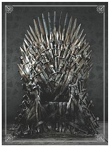 Game of Thrones Puzzle - Iron Throne