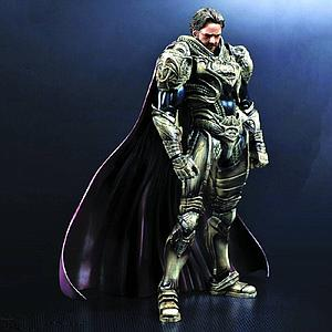 "Man Of Steel Superman 8"" Play Arts Kai: Jor-El"