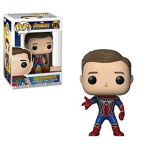 Pop! Marvel Avengers Infinity War Vinyl Bobble-Head Iron Spider (Unmasked) #305 BoxLunch Exclusive