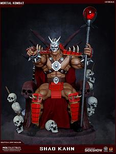 Shao Kahn on Throne