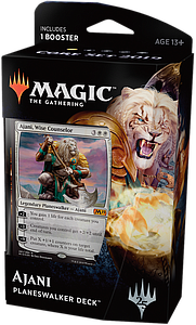 Magic the Gathering: Core Set 2019 Planeswalker Deck - Ajani